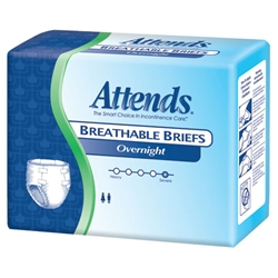 Attends Overnight Breathable Briefs