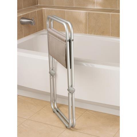 Folding Mesh Shower Seat