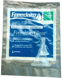 Freedom Clear Male External Catheters