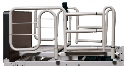 Liberty Half Length Bed Rail on Patriot Bed