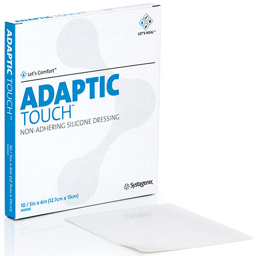Adaptic Touch Non Adhering Silicone Dressings