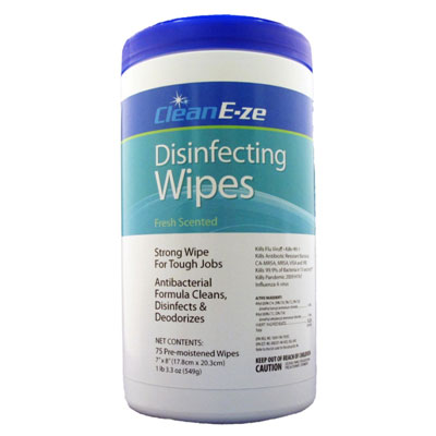 Clean E-ZE Fresh Disinfectant Wipes