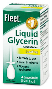 How to use glycerin suppositories for adults
