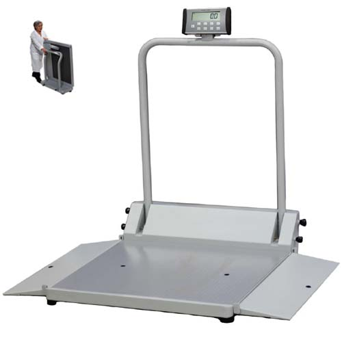 Folding Digital Wheelchair Scale