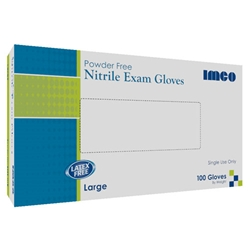 IMCO Nitrile Exam Gloves