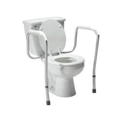 Adjustable Versaframe Toilet Safety Rail