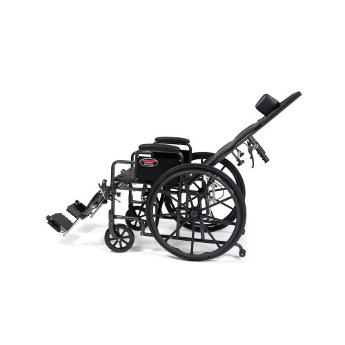 Advantage Reclining Wheelchair Side