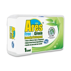 Ares Free & Green HE Liquid Detergent - 3.2 fl.oz. - Coin Vend