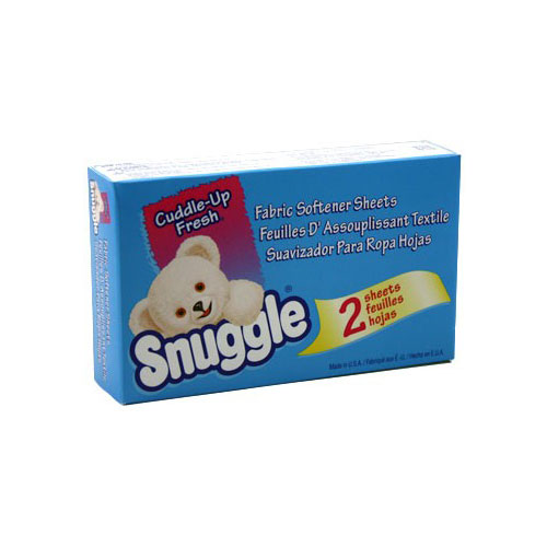 Snuggle Sheet Fabric Softener - Coin Vend