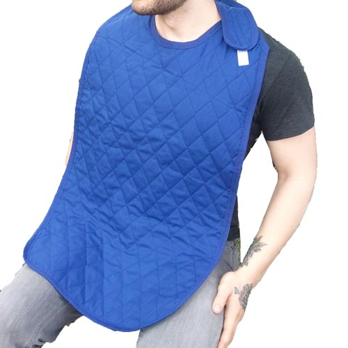 Dignity Blue Quilted Clothing Protector
