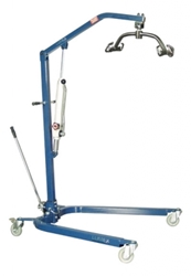 Blue Lumex Hydraulic Patient Lift