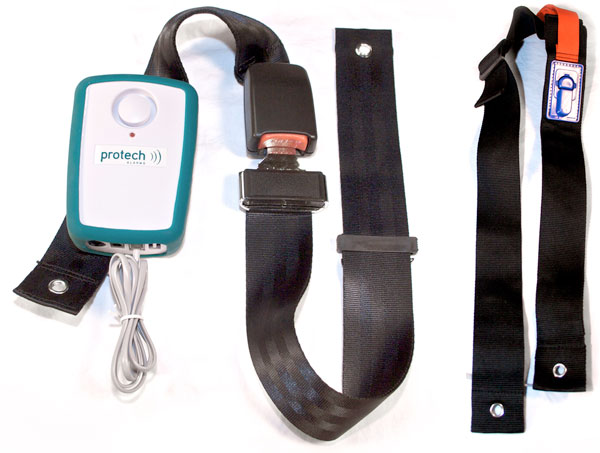 Protech Monitoring Seatbelts