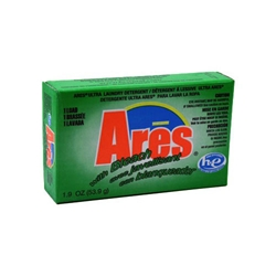 Ares with Bleach Laundry Powder HE 1.9 oz - Coin Vend