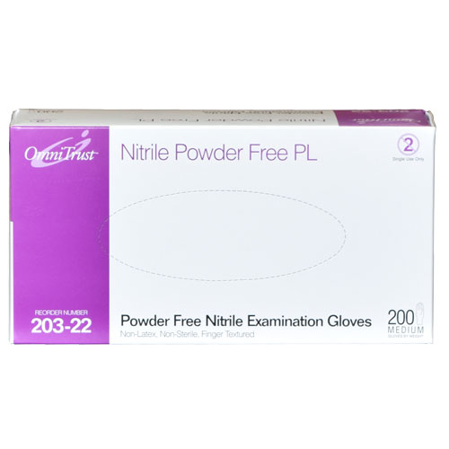 OmniTrust Powder Free Nitrile Lite Touch